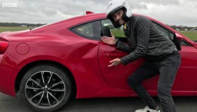 Primer accidente del coche de precio razonable de Top Gear