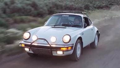 Vídeo: Jay Leno prueba el Porsche 911 Carrera Rally de 1985