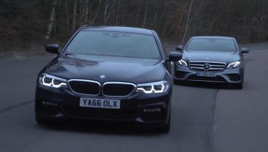 Vídeo: el nuevo BMW Serie 5 contra el Mercedes Clase E
