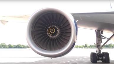 ¿Para qué sirven las espirales de los motores de un avión?