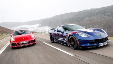 Corvette Grand Sport vs Porsche 911 GTS