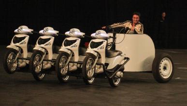 Richard Hammond sufre un fuerte accidente de moto