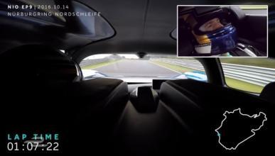 Vídeo: el récord de vuelta en Nürburgring del NIO EP9