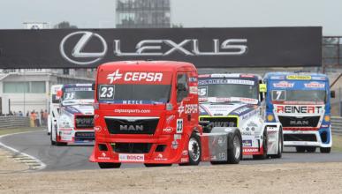 Antonio Albacete vuelve al Europeo de Camiones en 2017