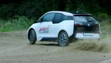 Un BMW haciendo rally, no es broma