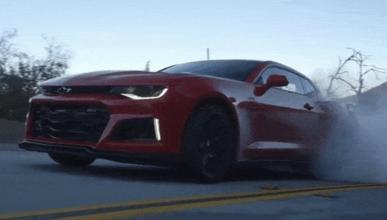 Motor Trend prueba el Chevrolet Camaro ZL1