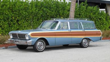 Subasta Ford Falcon Squire Wagon 1965