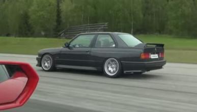 Vídeo: el BMW M3 e30 que humilló a un Lamborghini Huracán