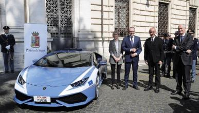 Otro Lamborghini Huracán para la Policía Italiana
