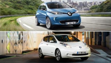 ¿Cuál es mejor, Renault Zoe o Nissan Leaf 2016?