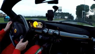Vídeo: sube a bordo de un Ferrari LaFerrari Aperta