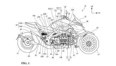 Honda trabaja en un trirueda híbrido de aspecto bestial