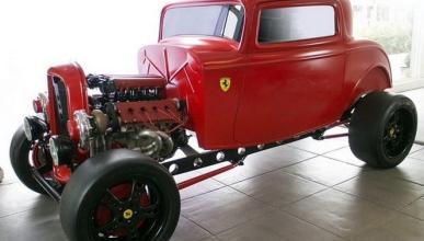 Combinación interesante: cuerpo Ford, corazón Ferrari