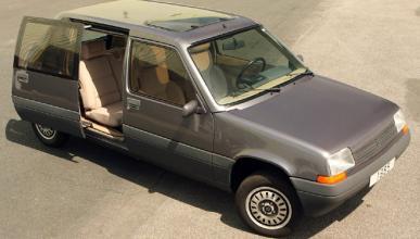 El Renault 5 con puerta lateral deslizante
