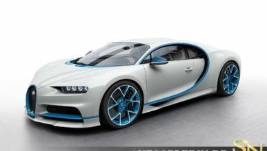 Un concesionario alemán vende un Bugatti Chiron