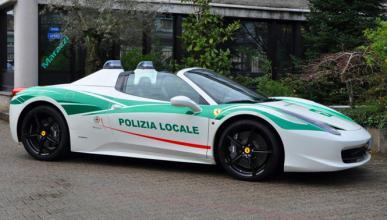 Este Ferrari embargado a la mafia es ahora de la Policía