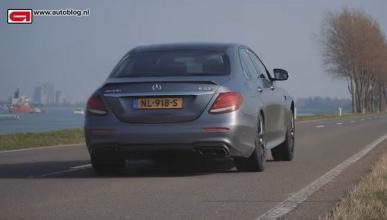Así acelera el Mercedes-AMG E63 S, ¡imposible!