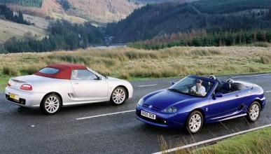 MG lanzaría un nuevo modelo para competir con el Mazda MX-5