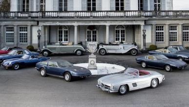 Encuentran 12 coches clásicos abandonados en un castillo