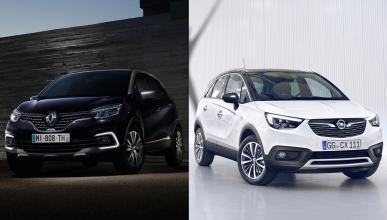 ¿Cuál es mejor, Opel Crossland X o Renault Captur?