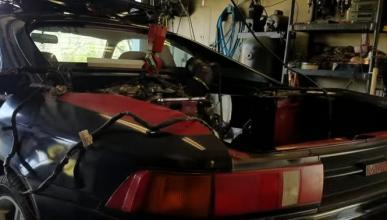 Toyota MR2 V8 4.2: Sí, ¡de locos!