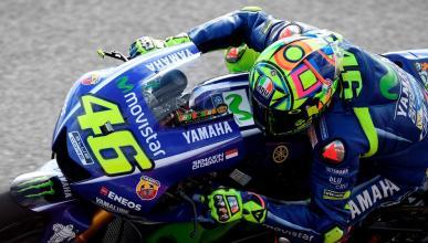 La lluvia deja fuera de la Q2 a Rossi, Lorenzo y Pedrosa