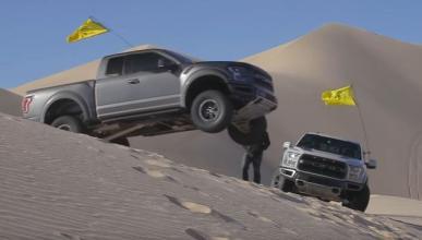 Vídeo: Ken Block al volante del Ford F-150 Raptor 2017