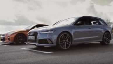 Vídeo: Audi RS6 Avant VS Nissan GT-R