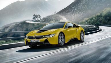 BMW i8 Protonic Frozen Yellow