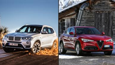 ¿Cuál es mejor, Alfa Romeo Stelvio o BMW X3?