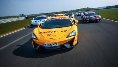 McLaren 540C Safety Car