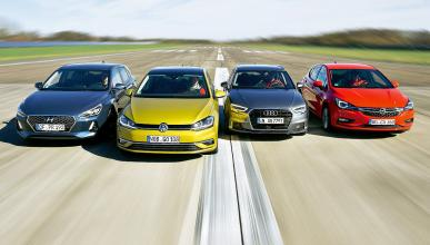 Comparativa: Volkswagen Golf 7 (2017) vs rivales
