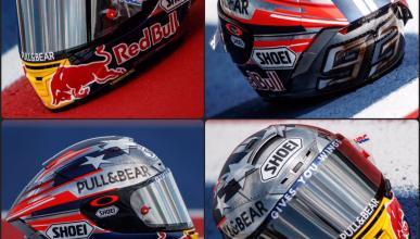 El nuevo casco de Marc Márquez para Austin 2017