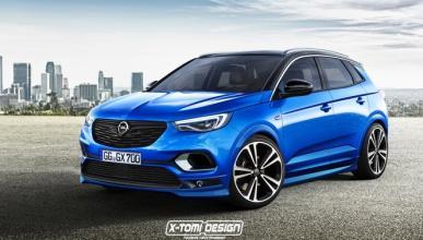 Así podría ser el Opel Grandland X OPC