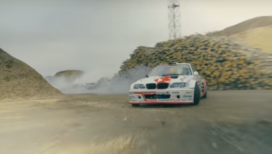 Vídeo: drift a lo loco del BMW M3 con motor V8