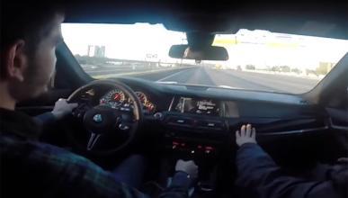 Imposible contar las infracciones que comete este BMW M5