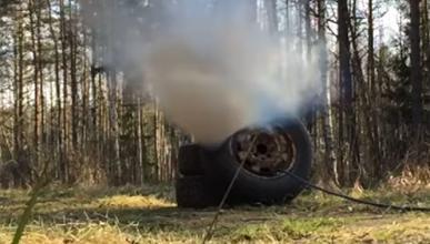Vídeo: ¿qué pasa si hinchas demasiado una rueda?