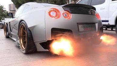 Vídeo: así rugen los 1.750 CV de este Nissan GT-R