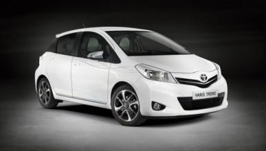 Toyota Yaris Trend, en el Salón de París de 2012