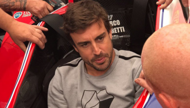 "Fernando Alonso: ""En la Indy 500 soy un novato"""