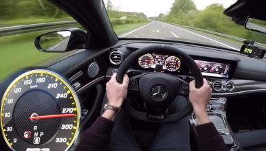 Vídeo: así acelera hasta 300 km/h el Mercedes-AMG E 63 S