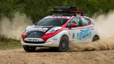 Un Nissan Leaf para correr un rally de 16.000 km