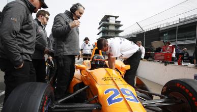 """""""Es posible que Alonso gane las 500 Millas de Indianápolis"""""""