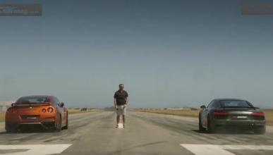 Nissan GT-R VS Audi R8, enfrentados en una Drag Race