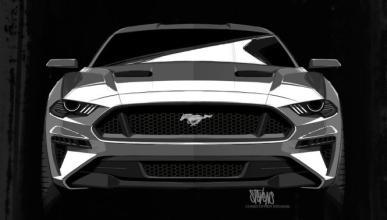 Darth Vader inspiró el diseño del nuevo Ford Mustang