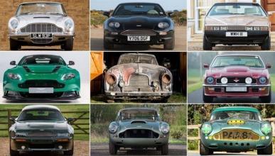 Hasta 42 espectaculares Aston Martin se subastarán este mes