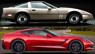 ¿Cómo ha cambiado el Chevrolet Corvette en 30 años?