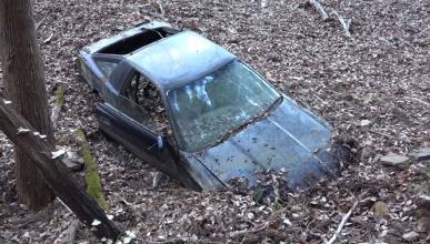 Vídeo: el Supra abandonado en una montaña japonesa