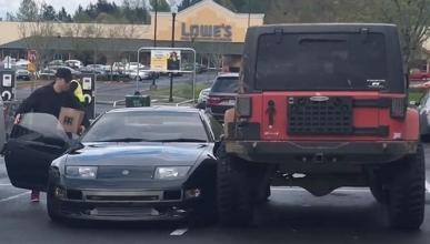 O aparcas bien, o te pasará esto…