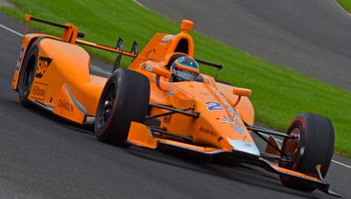 En directo: entrenamientos de Alonso en Indianápolis